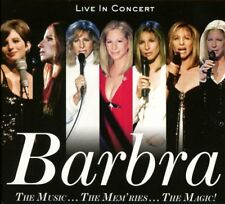 BARBRA STREISAND - THE MUSIC,,,THE MEM'RIES,,,THE MAGIC!  2 CD NEW