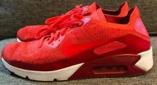 Nike Men's Air Max 90 Ultra 2.0 Flyknit Bright Crimson Sz 13 875943-600