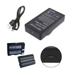 Battery Charger For Nikon EN-EL3E EN-EL3 D100 100SLR D50 D70 D70S D200 D80 D90