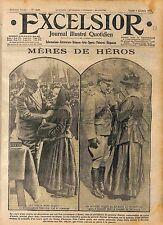 Medal General Marini Médaille Militaire Rome Mère des Héros Roma Italia WWI 1916