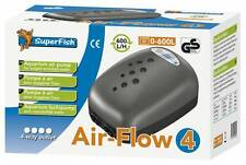 Superfish Air Flow 4 bilancio Pompa Acquario Fish Tank AIRPUMP 600L/H 4 uscite