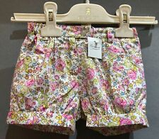 Bonpoint Floral Cotton Bloomer Style Shorts RRP £75 Size: 12m BNWT