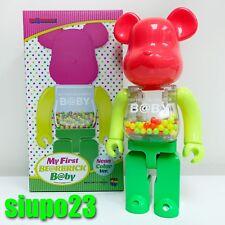 Medicom 400% Bearbrick ~ My First Baby Be@rbrick Neon Color Version