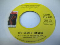 Soul 45 THE STAPLE SINGERS Love Comes In All Colors on Stax 3
