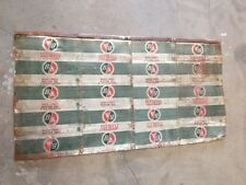 The British American Company Limited BA Motor Oil Peerless Can sign 42.5 x 22.5