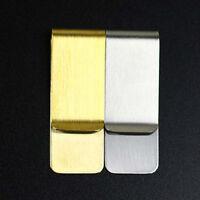 DIYVintage Brass/Stainless Steel Pen Accessory Holder Clip Desk Office Notebook