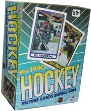 NEW 1990 Topps Hockey Box - Brand New