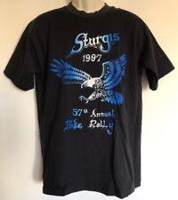 Men's Vintage 1997 Motorcycles Eagle Sturgis T Shirt Large