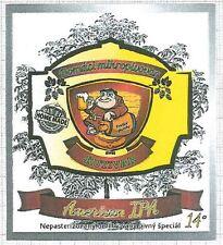 SLOVAKIA Micro,Kutivar,Svit America IPA monk beer label C1543