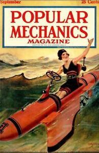 Popular Mechanics 600 Select Issue Collection On USB Memory Stick