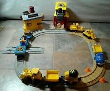 GeoTrax Construction Lot Pack Track Vehicles Push Trains City Extras Spare Parts