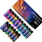 Iridescent Acrylic Paint, Set of 16 Chameleon Colors 60ml 2 OZ Bottles <br/> High Viscosity Shimmer Paint, Non-Toxic