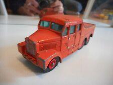 Matchbox King Size Scammel 6x6 Tractor in Orange