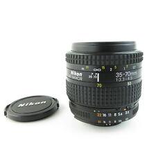 Nikon AF Nikkor 35-70mm 1:3.3-4.5 Objektiv lens