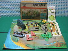 Extremely Rare Old Timpo toys  BEACH - HEAD  SET   never played