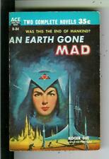 AN EARTH GONE MAD & REBELLIOUS STARS by Asimov, Ace #D84 sci-f pulp vintage pb