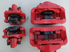 BMW M3  Bremsanlage 4x Bremssattel + Bremsbeläge tornadorot 7845137 , 2284296
