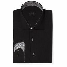 Collared Paisley Long Sleeve Casual Shirts & Tops for Men