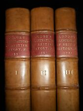 Illustrations of British History, Biography & Manners - 1791-1st - 3 Volume Set
