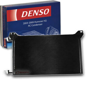 Denso AC Condenser for 2003-2009 Hummer H2 6.0L 6.2L V8 AC Air Conditioning so