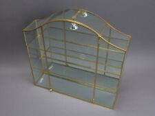 Swarovski Vitrine Crystal mit Beleuchtung 24 K vergoldet Setzkasten