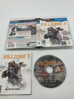 Sony PlayStation 3 PS3 CIB Complete Tested Killzone 3