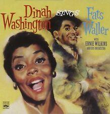 Dinah Washington: SINGS FATS WALLER (2 LPS ON 1 CD)