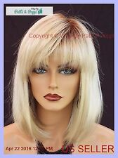 MONOTOP DESIGNER WIG BOB WITH BANGS *ROOTED BLOND ✮ SILKY SAND