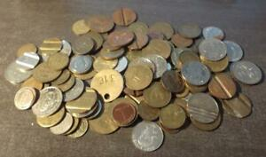 100+ OLD TOKENS, MAINLY BRITISH  MANY TYPES  Z23