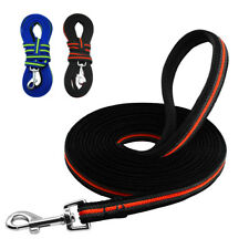 Long Dog Leash Tracking Leash Handle Padded for Dogs Pet Walking Hiking Leash