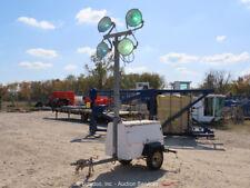 New listing 2004 Allmand Night-Lite Pro Towable Light Tower Generator Kubota Genset bidadoo