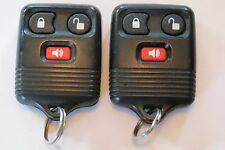 PAIR OF OEM FACTORY FORD F-250 LINCOLN MERCURY TRUCK  KEYLESS ENTRY REMOTE FOB
