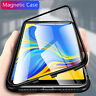 Magnétique housse coque Pour Samsung Galaxy A51 A71 A30 A50 A7 étui verre trempé