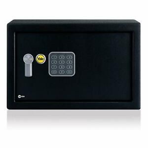 Yale YEC/200/DB1 Small Alarmed Safe, 130db built-in Alarm | NEW, Free delivery