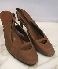 Scanlan Theodore Sz 40.5 9 Designer Slingback Shoes