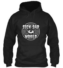 New Sick Sad World Men's Black Hoodie