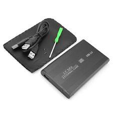 """BOX SATA ESTERNO CASE USB 2.5""""  IN ALLUMINIO PER HARD DISK HD ug"""