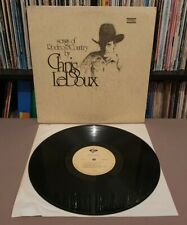 CHRIS LEDOUX Songs Of Rodeo & Country Vinyl L.P **1974 USA** LM-5305-3 - EX+/EX+