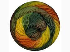 Viking of Norway ::Odin #834:: 100% Superwash wool 40% OFF! Green-Yellow-Orange