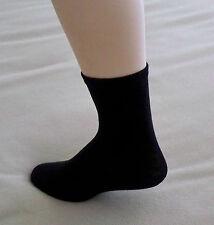 Women's Crew Socks Pkg of 2 Size 10-13 Black New Proportion Fit