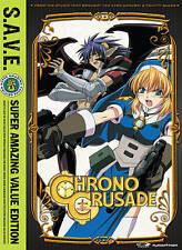 Chrono Crusade: Complete Series, Good DVD, Greg Ayres, Hilary Haag, Chris Patton