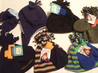 Baby Boys 6-12 Month Infant/Toddler Polyester Fleece Hat Mitten Set Choice NWT