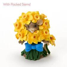 Charming Tails Daffodilly Spring Mouse Figure Daffodill New 4020484 Enesco Nib