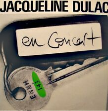 ++JACQUELINE DULAC en concert DÉDICACÉ LIVE LP SFP venise sous la neige VG++