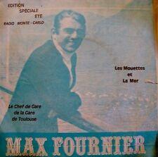 MAX FOURNIER les mouettes et la mer/chef de gare SP++