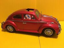 VINTAGE VW BEETLE VOLKSWAGEN  TIN TOY BANDAI MADE IN JAPAN