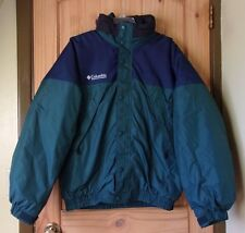 Columbia 2-in-1 Dark Teal Coat, Inner Coat Insulated, Men's L
