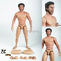 1/6 Scale Hugh Jackman 2.0 Muscular Action Figure Body Doll With Wolverine Head