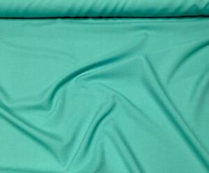 POPLIN SHEETING POLYCOTTON FABRIC SOLID TEAL GREEN MED WEIGHT 6 OZS. BY THE YARD