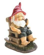 Rocking Chair Gnome Garden Statue